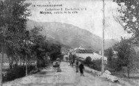 Entrée de ville le Claux Eschalier avant 1900_1
