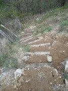Escaliers pistes